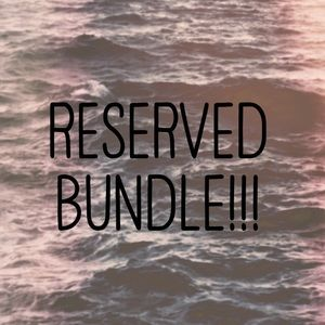 Please do not purchase! Reserved bundle.
