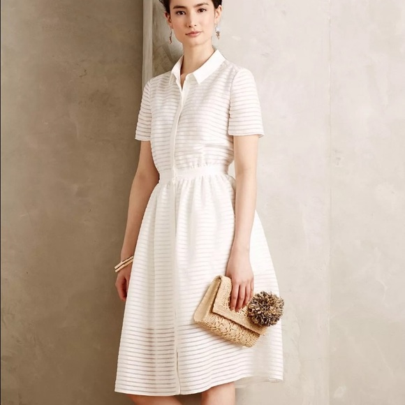 9f8ed4bd22b Anthropologie Dresses   Skirts - Erin Fetherston Colette Shirtdress Fit n  Flare
