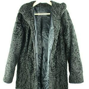Astrakhan Fur Coat BG-#8645122