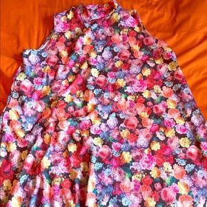 NWOT, NBW - Asos Curve Floral Midi Dress