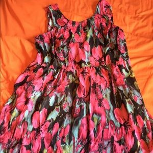 Plus Sized Floral Dress, 24