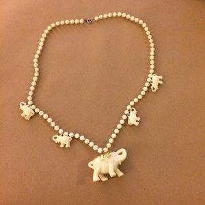 Jewelry - Elephant charm necklace