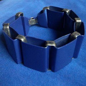 🌞Ocean Blue Metal Link Bracelet!