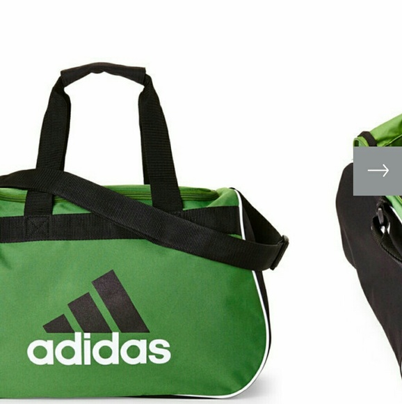 328b38d86e ADIDAS GREEN   BLACK GYM  DUFFEL BAG