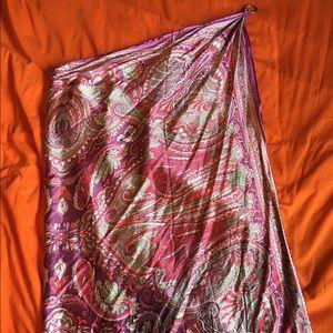 NBW NWOT | One Shoulder Handkerchief Dress