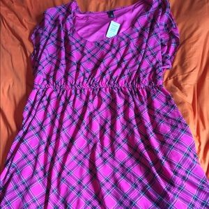 $5 off TODAY ONLY! Torrid Pink/Black Dress, Size 4