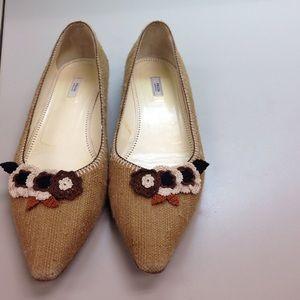 10 Crosby Derek Lam Shoes - Italian woven flats💥💥sale 1 HR