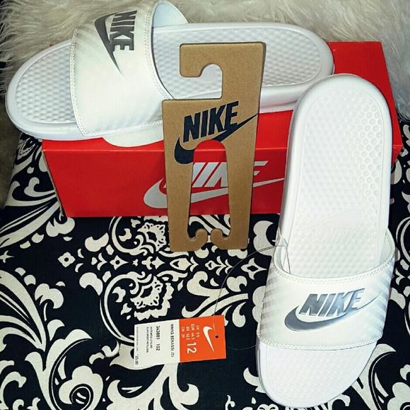 Nike Shoes   Nib Benassi Slides Slip On