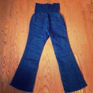 Indigo Blue brand premium denim maternity jeans