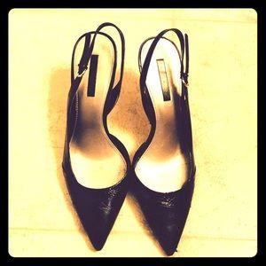 Bandolino Shoes - Bandolino Snakeskin Slingback Heels