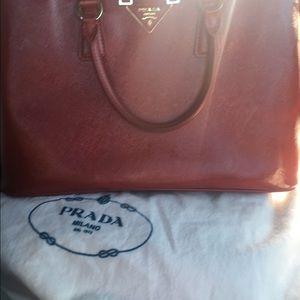 Prada saffiano bag on Poshmark