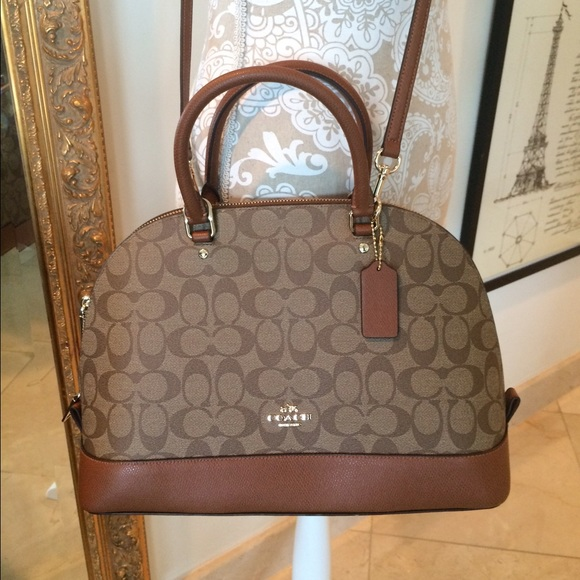 coach bags signature sierra satchel nwt poshmark