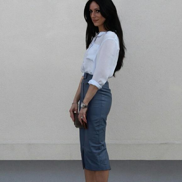 5305f43bbf ASOS Skirts | Leather Pencil Skirt | Poshmark
