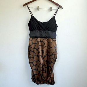 Wishes Wishes Wishes Dresses & Skirts - Brown Pattern Dress