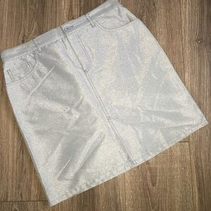 Marc Jacobs Dresses & Skirts - Marc Jacobs Metallic Mini Skirt MJ Style
