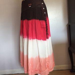 Oilily Dresses & Skirts - Oilily Tantrum Soft Fade Boho Skirt- Sz 40 NWT