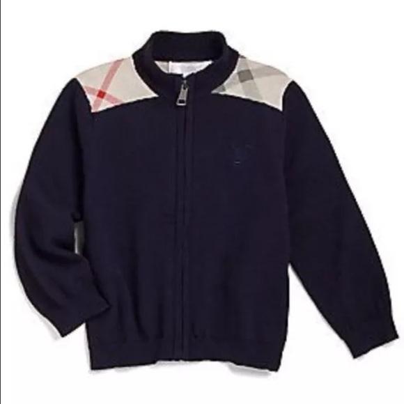 16cb806820e3d Baby Boy Burberry sweater size 12 months