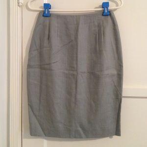 Valerie Stevens Dresses & Skirts - Linen pencil skirt