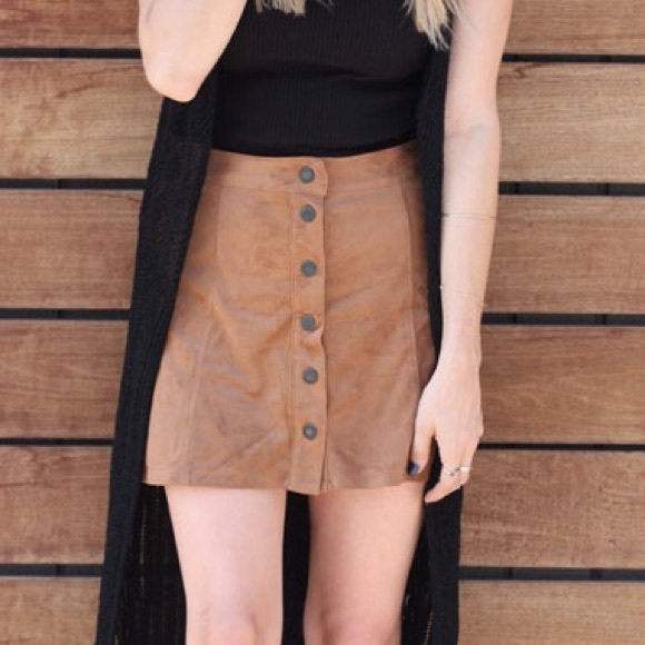 American Eagle Outfitters Dresses   Skirts - American Eagle Suede Skirt 90ebc264e