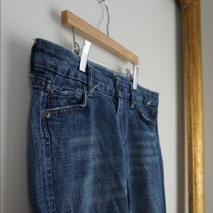 """7 For All Mankind Cropped """"A"""" Pocket"""
