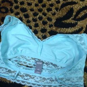 53995b2115b4 PINK Victoria s Secret Intimates   Sleepwear - 🅐🅔🅡🅘🅔 Tiffany blue lace  bandeau