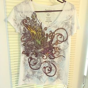 Angels & diamonds  Tops - Nwt Angels & Diamonds shirt 💞 size S