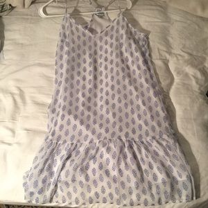 printed old navy dress