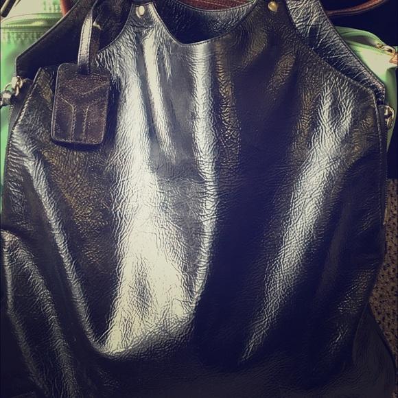 50% off Yves Saint Laurent Handbags - YSL Tribute LARGE black ...