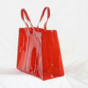 Handbags - Plastic see-through tote bag