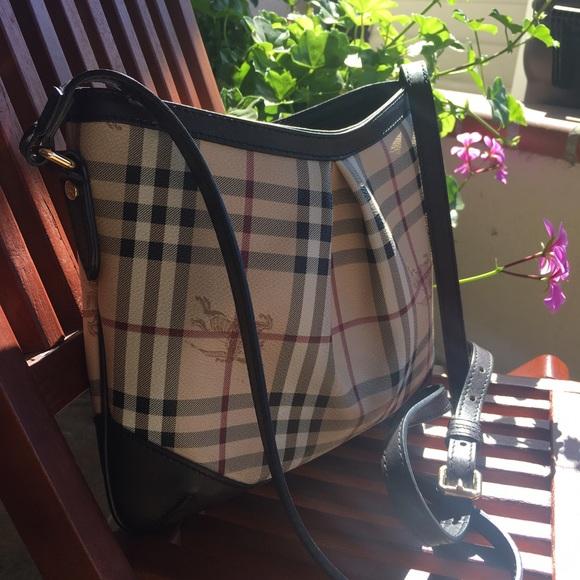 Burberry Handbags - Burberry Haymarket Check Crossbody Bag 478cd7ae49689