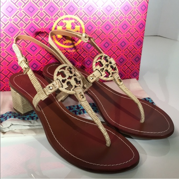 09394358b8d4 🎉Authentic Tory Burch Mini Miller Sandals 🌺