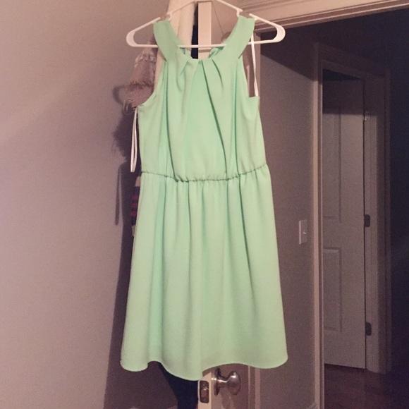 50% off A.Byer Dresses &amp Skirts - Mint green bridesmaid dress ...