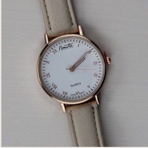 Nanette Lepore Classic Rose Gold Watch