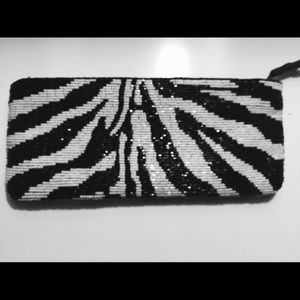 Neiman Marcus Handbags - Neiman Marcus Beaded Clutch