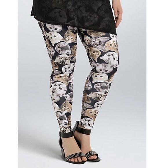 22% off torrid Pants - 💕 Fun cat leggings from Laura's closet on ...