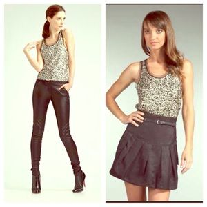 Gryphon Tops - STEAL!! GRYPHON tanktop with metallic sequins - XS