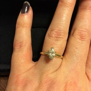 Authentic Diamond engagement ring