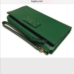 Kate Spade Layton Wellesley Sprout Green  Tech