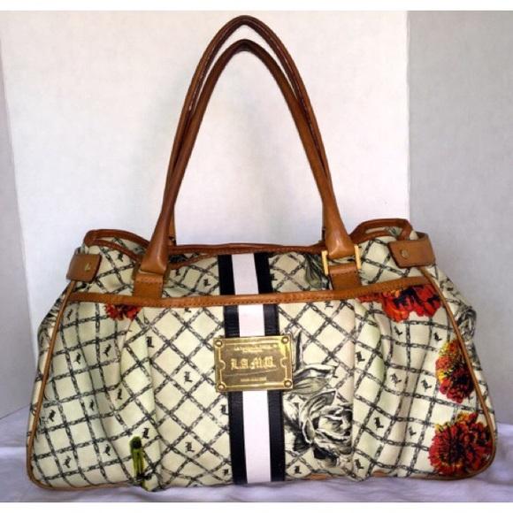 ee81d21e1bfb L.A.M.B. Handbags - L.A.M.B Marigold Hopewell Bag