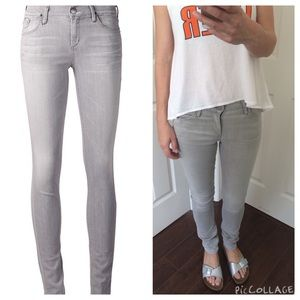 Goldsign Denim - Goldsign lure skinny jeans light grey💥lowest💥