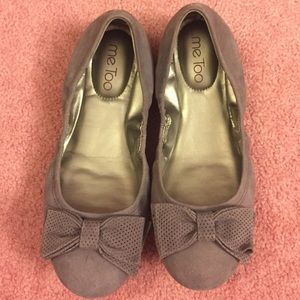 NEW Cushioned bow ballet flats