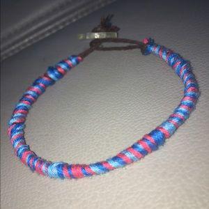 hand-made bracelets