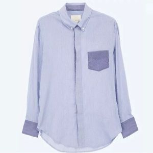 Band of Outsiders Tops - Band of outsiders pinstripe button up shirt 1