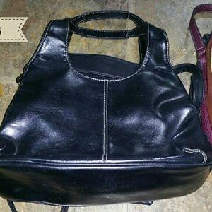 Black Handbag Purse Organizer!