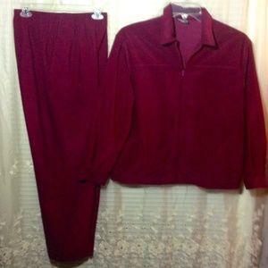  2 piece pants and jacket set