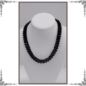 Jewelry - 💥Double Strand Faceted Necklace - 5 for $25