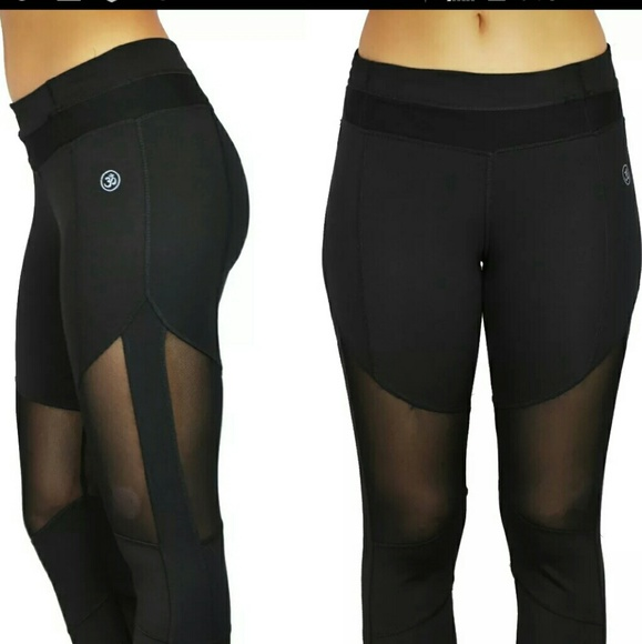 Leggings With Mesh Cutouts Photo Album - Reikian