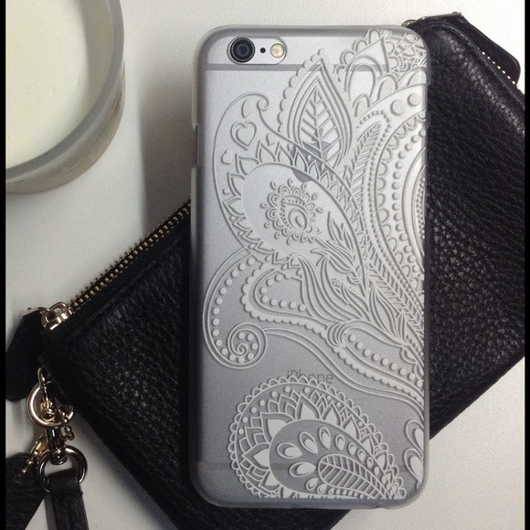 iphone 6 case clear pattern