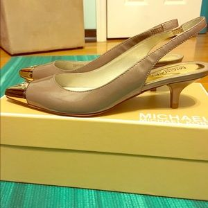 Michael kors slingbacks