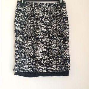 Banana Republic Print Skirt